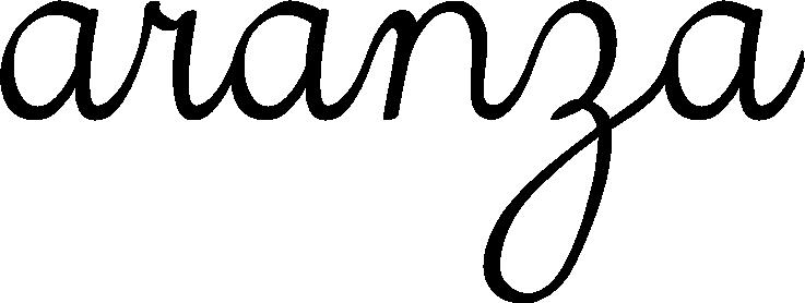 aranza cursiva