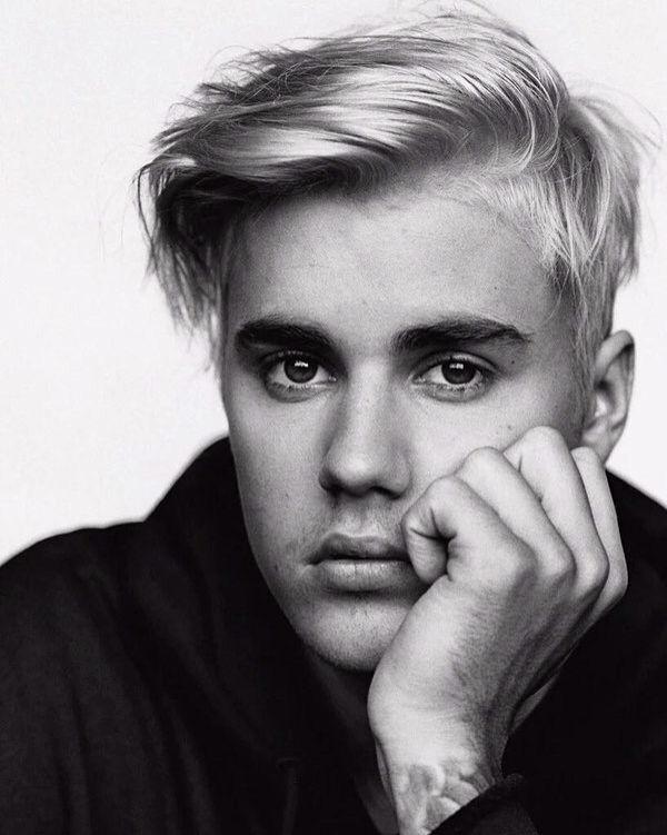 Justin Bieber B&W