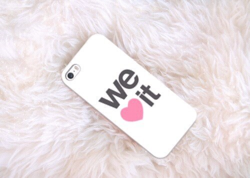 We Heart It Phone Case